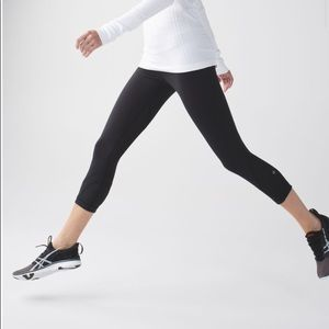 NWT Lululemon Run: Inspire Crop II It Pocket